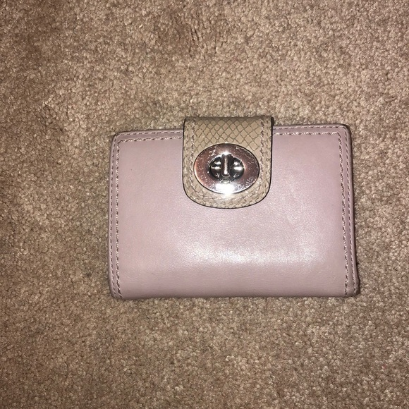 Coach Handbags - Pale Purple Coach Wallet